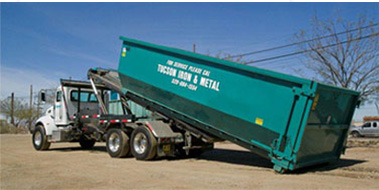 Roll off truck services in Tucson AZ